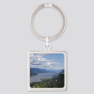 Columbia River gorge Square Keychain