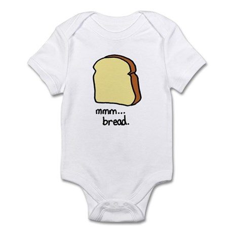 mmm.. bread. Infant Bodysuit