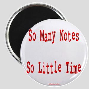 So Many Notes Magnet