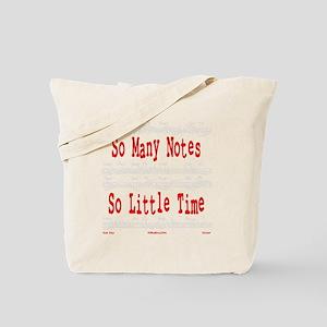 So Many Notes Tote Bag