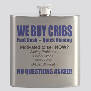 We Buy Cribs Flask