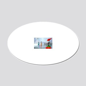ERGANOMIC MOUSEPAD 20x12 Oval Wall Decal