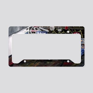 Classical Car Calender License Plate Holder