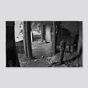 Abandoned Office in New York 240BW 3'x5' Area Rug