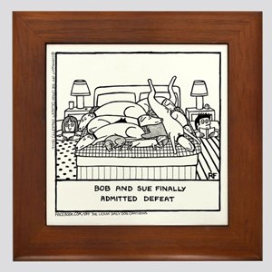 Finally Admitted Defeat Framed Tile