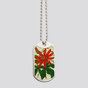 Passion flower Dog Tags