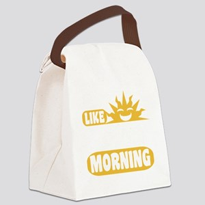 Easy Like Sunday Morning Canvas Lunch Bag