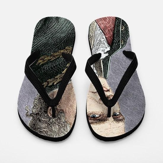 Antoine de Jussieu, French botanist Flip Flops