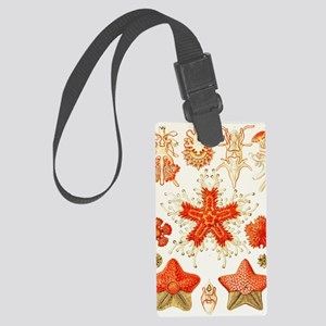Asteroidea organisms, artwork Large Luggage Tag