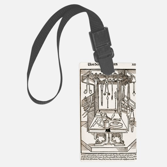 15th century surgical equipment, Luggage Tag