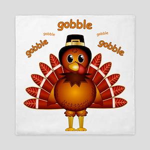 Gobble Gobble Turkey Queen Duvet