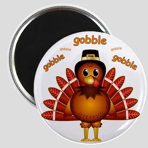 Gobble Gobble Turkey Magnet