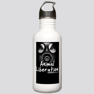 Animal Liberation Blac Stainless Water Bottle 1.0L