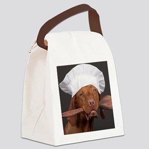 vizsla chef Canvas Lunch Bag