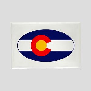 CO - Colorado Rectangle Magnet