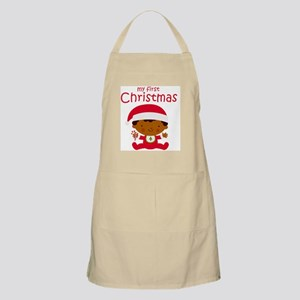 Black Boy 1st Christmas Apron