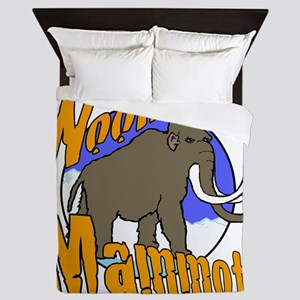 woolly Mammoth Queen Duvet