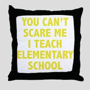 scareSchool1D Throw Pillow