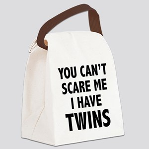 scareTwins1A Canvas Lunch Bag