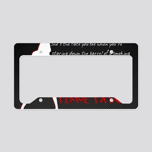 FF Sharp Shooter License Plate Holder