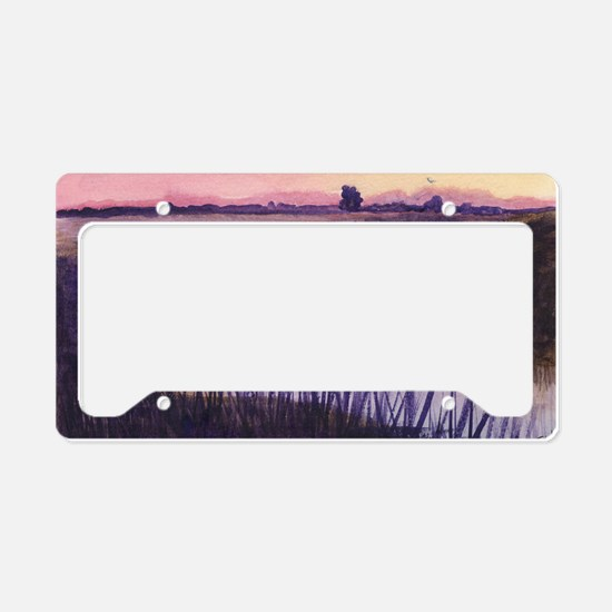 Loxahatchee at Sunset License Plate Holder