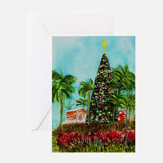 100 Foot Christmas Tree Greeting Card