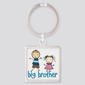 Big Brother Square Keychain
