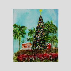 100 Foot Christmas Tree Throw Blanket
