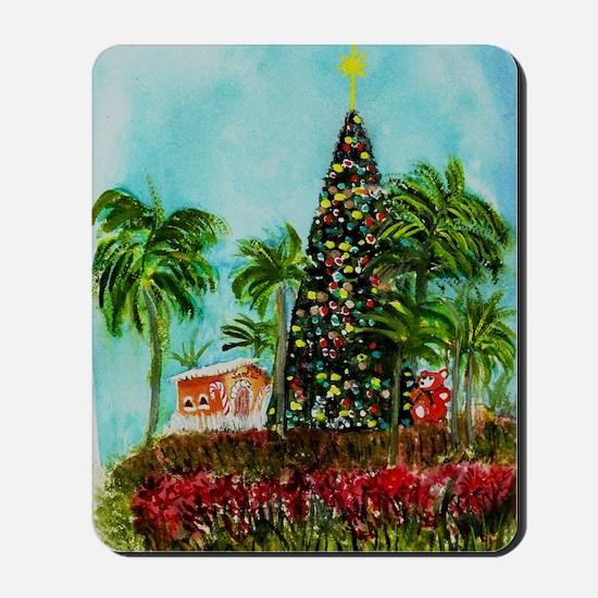 100 Foot Christmas Tree Mousepad