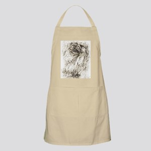 Pekingese Portrait Light Apron