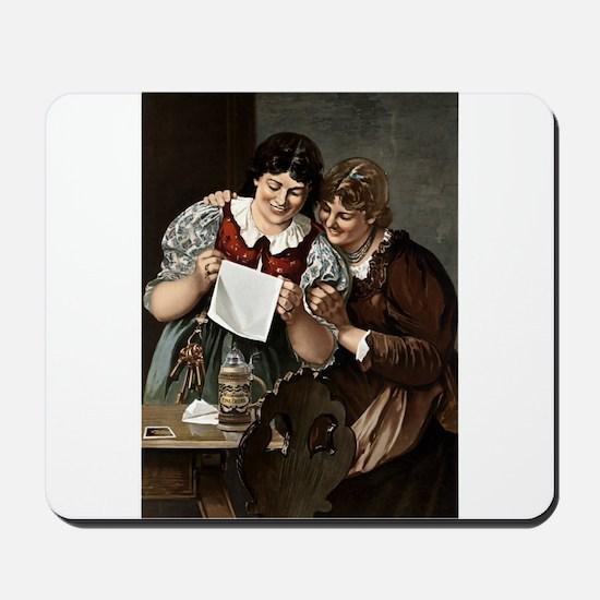 Wiedemanns_Fine_Beers_advertisement 1880 Mousepad