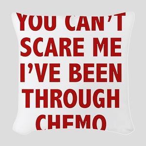 scareTroughChemo1D Woven Throw Pillow
