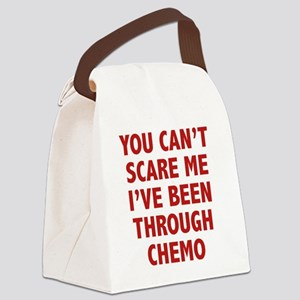 scareTroughChemo1D Canvas Lunch Bag
