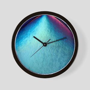 Cholecystokinin crystal Wall Clock