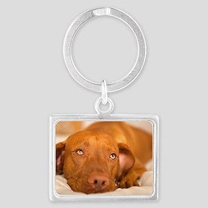 dreamy dog Landscape Keychain