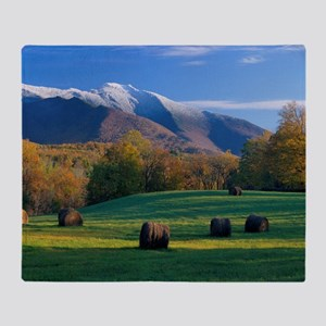 Mt. Mansifield, Vermont Throw Blanket