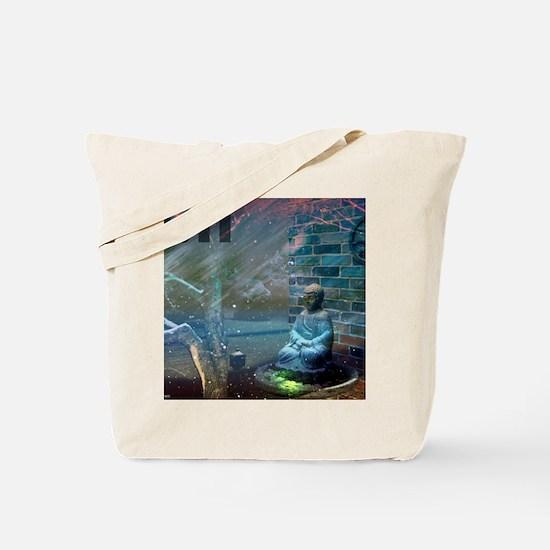 11:11 Buddha Tote Bag