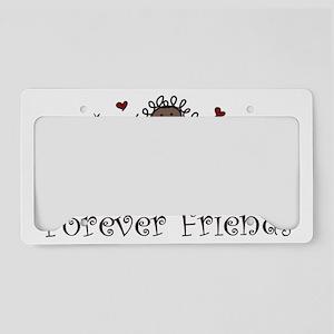 Forever Friends License Plate Holder