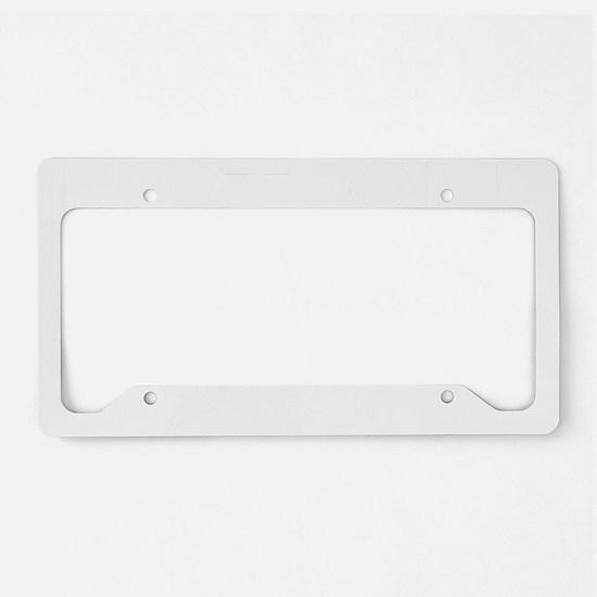 justShy1B License Plate Holder