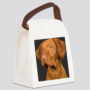 vizsla portrait Canvas Lunch Bag