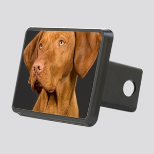 vizsla portrait Rectangular Hitch Cover