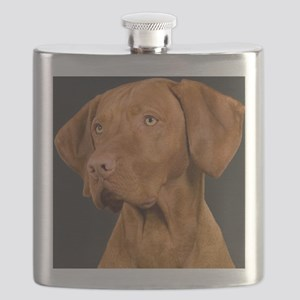 vizsla portrait Flask