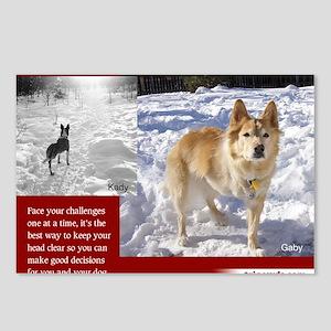 Tripawds Three Legged Dog Postcards (Package of 8)