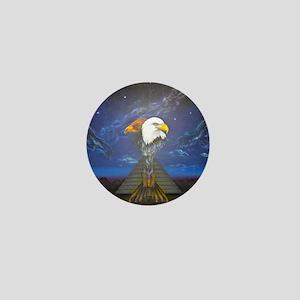 The Condor and Eagle Reunite Mini Button