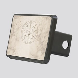 Uriel allover back Rectangular Hitch Cover