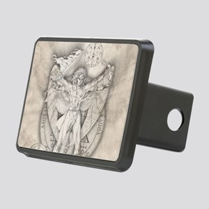 Uriel allover Rectangular Hitch Cover