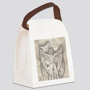 Uriel allover Canvas Lunch Bag