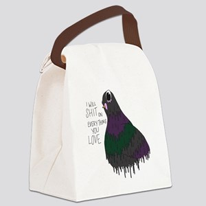 Everything You Love Canvas Lunch Bag