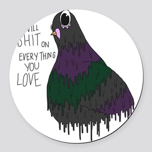 Everything You Love Round Car Magnet