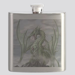 Misty allover Flask